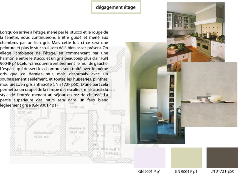 DEGAGEMENT ETAGE Maisons classiques par Saint Roch KA International Classique