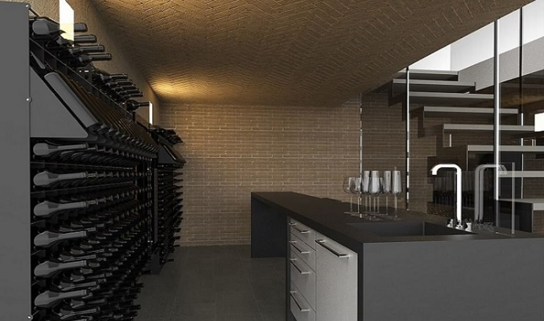 modern Wine cellar by Esigo SRL