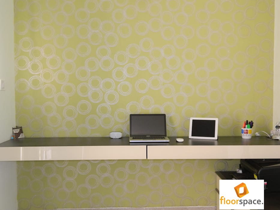 Project Encore - Home Office Desk: minimalistic Houses by Floorspace
