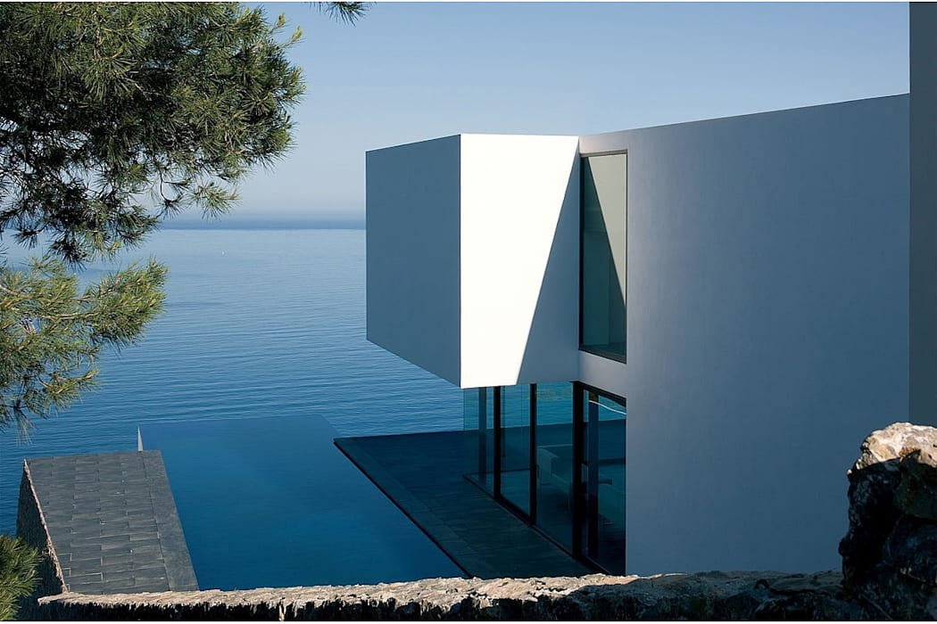 現代房屋設計點子、靈感 & 圖片 根據 AABE 現代風