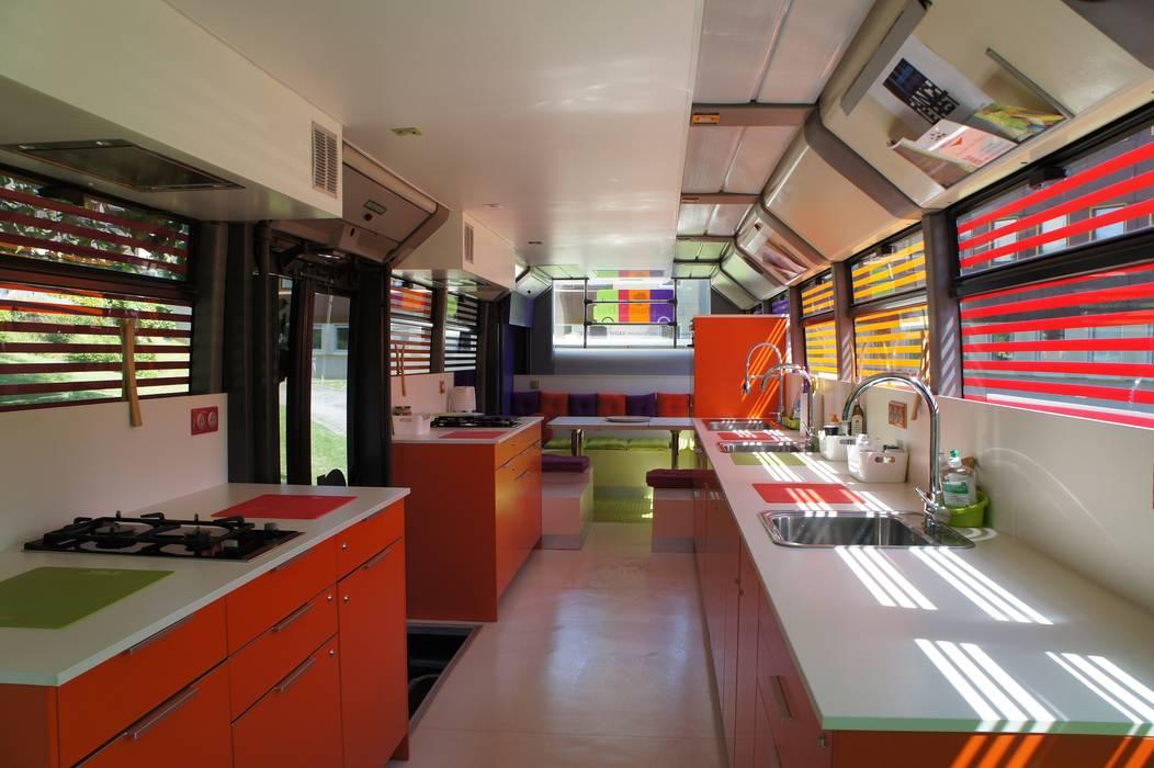 Toques et Bus Centres commerciaux modernes par Souffle d'intérieur Moderne