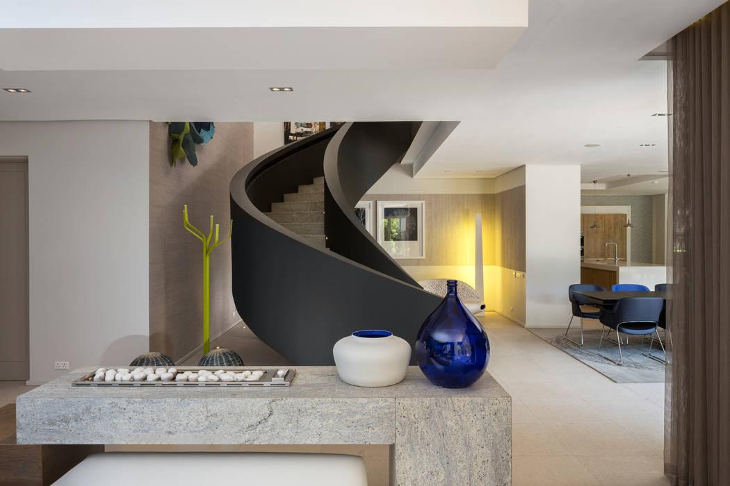 House Shoeman interior C7 architects Ingresso, Corridoio & Scale in stile moderno