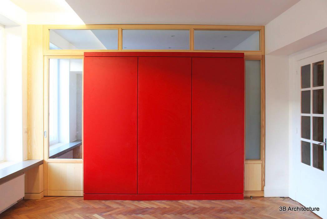 Mobilier et lumière: Salle à manger de style  par 3B Architecture