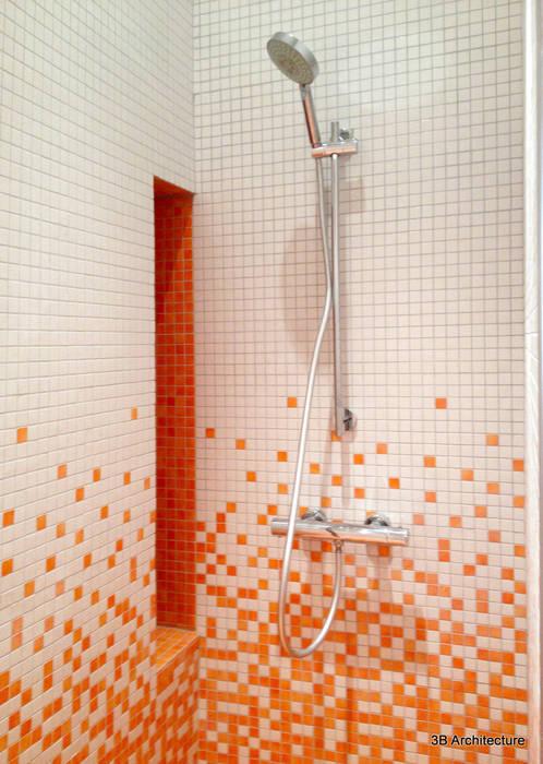 Salle d'eau Salle de bain moderne par 3B Architecture Moderne