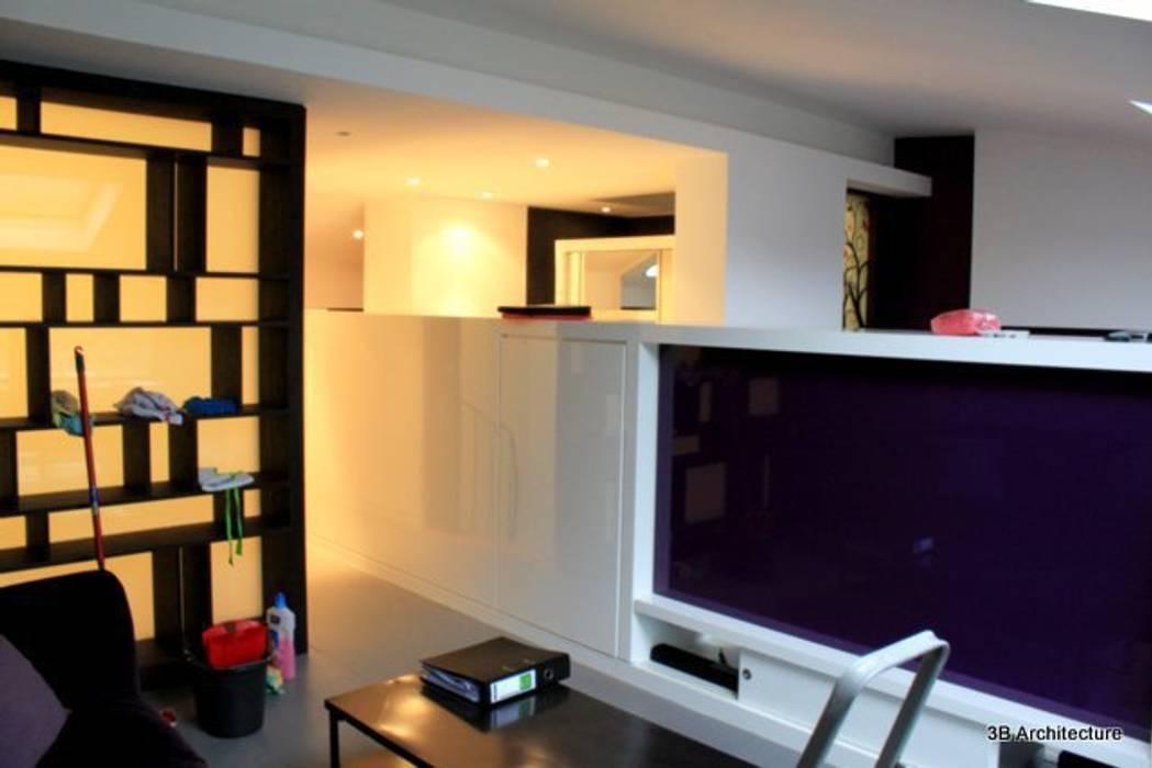 Espace création Chambre moderne par 3B Architecture Moderne