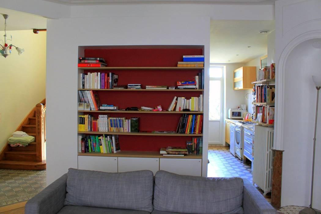 Bibliothèque: Salon de style  par 3B Architecture