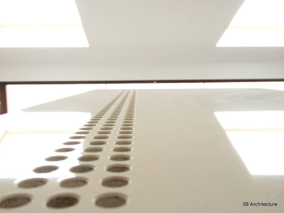 Laque et brillance: Chambre de style  par 3B Architecture