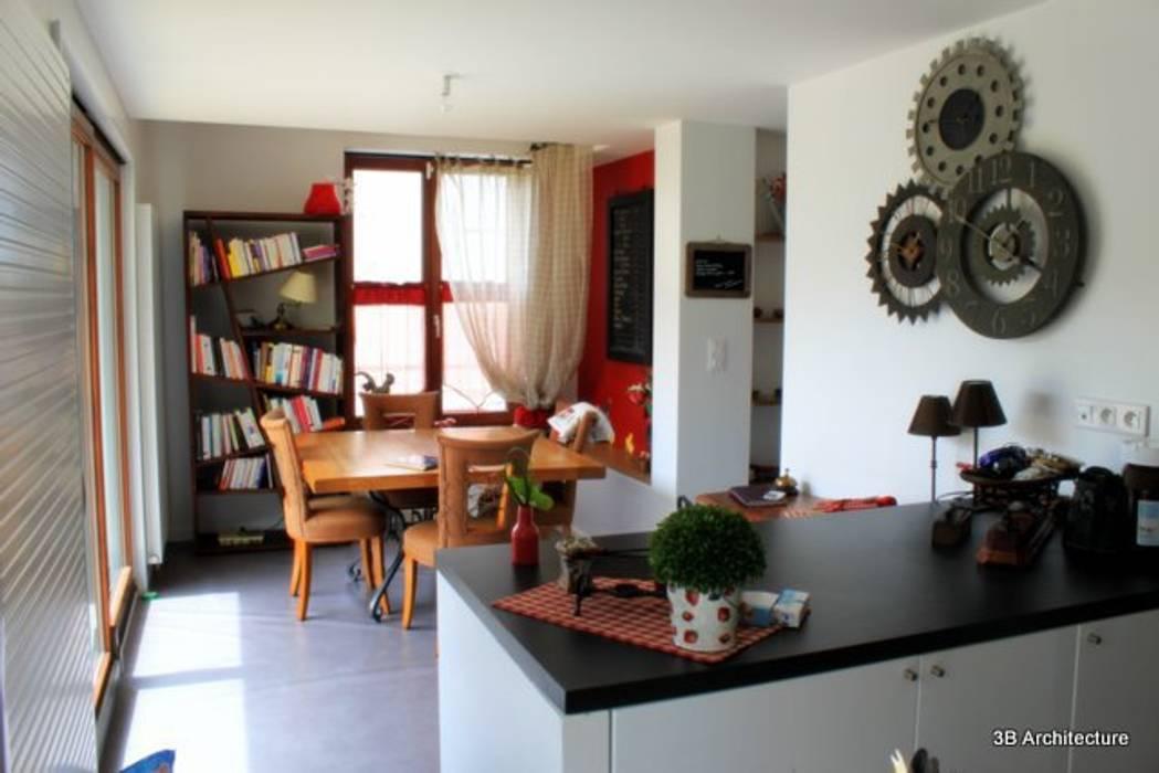 Espace repas: Cuisine de style de style Moderne par 3B Architecture