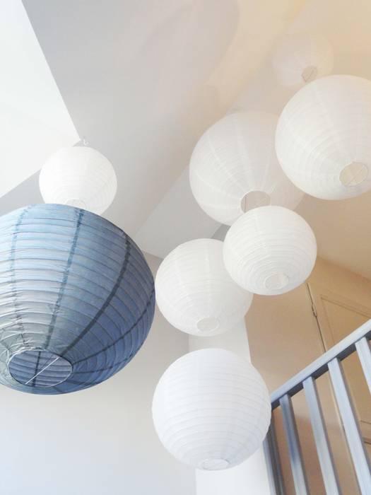 décoration cage d'escalier Chambre classique par agence ine Classique