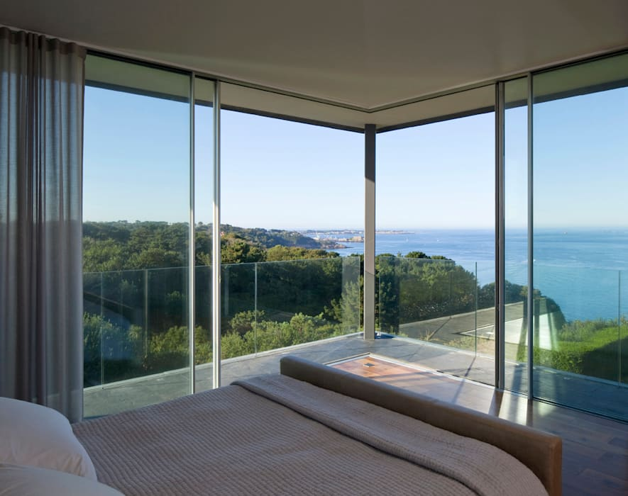Couin de Vacque Modern windows & doors by JAMIE FALLA ARCHITECTURE Modern
