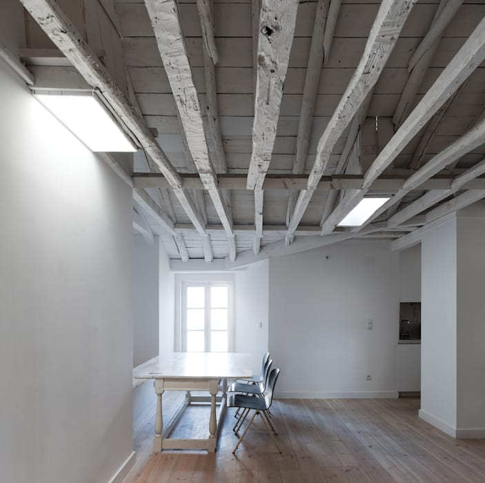 FANQUEIROS José Adrião Arquitectos Espaços de trabalho clássicos