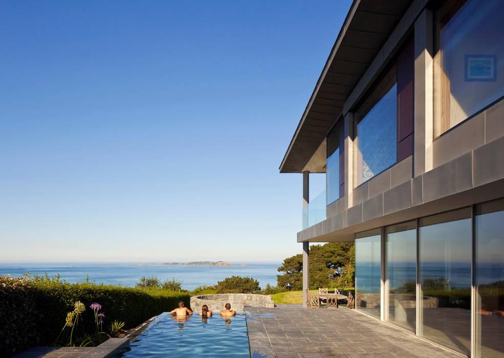 Couin de Vacque JAMIE FALLA ARCHITECTURE Moderne Pools