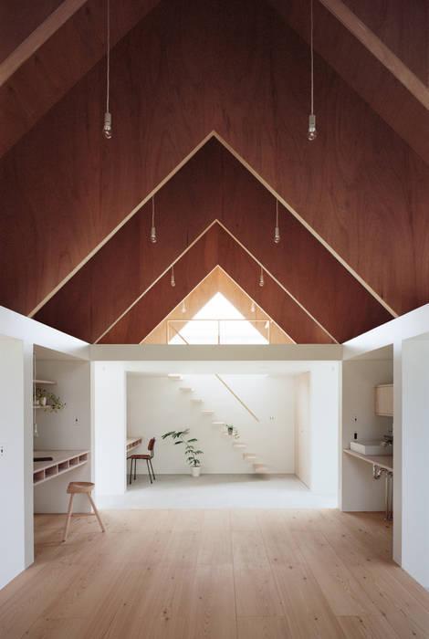 Koyanosumika ma-style architects Oficinas de estilo minimalista