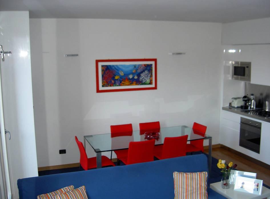 Casa A di Studio Architetto Daniele Agostinelli Moderno