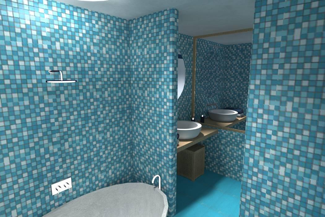 """Concorso """"Young Designers 2011""""   """"How tomorrow hotel's room will be"""": Hotel in stile  di Studio Architetto Daniele Agostinelli"""