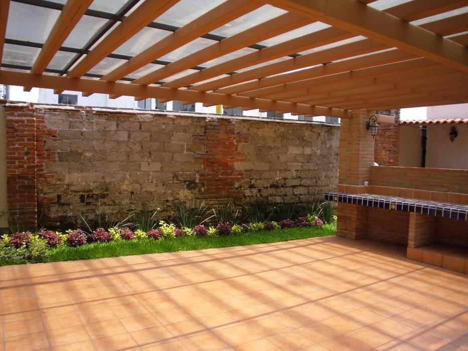 Jardin rustique par IDEA Studio Arquitectura Rustique