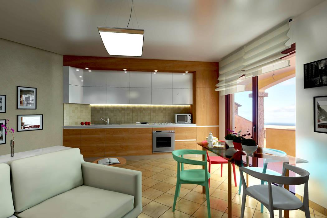 Architettura E Design Interni.Modellazione Di Interni Soggiorno Soggiorno In Stile Di Aaa
