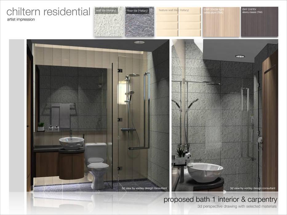 Chiltern Singapore: modern  by Vontey Design Consultant, Modern