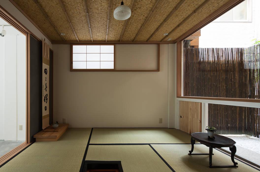 茶室と庭: TOFUが手掛けた家です。