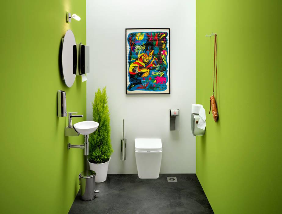7 BATHROOMS FOR 7 STORIES Salle de bain originale par Lineabeta Éclectique