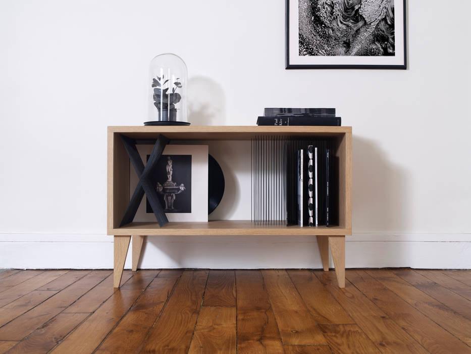 skandinavische Wohnzimmer von Elsa Randé,  design artisanal de fabrication française