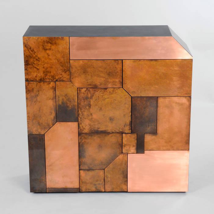 Elementi - Copper Patina Cabinet от Andrea Felice - Bespoke Furniture Эклектичный