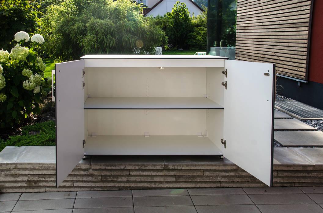 @win Gartenschrank - wetterfest von design@garten - Alfred Hart - Design Gartenhaus und Balkonschraenke aus Augsburg