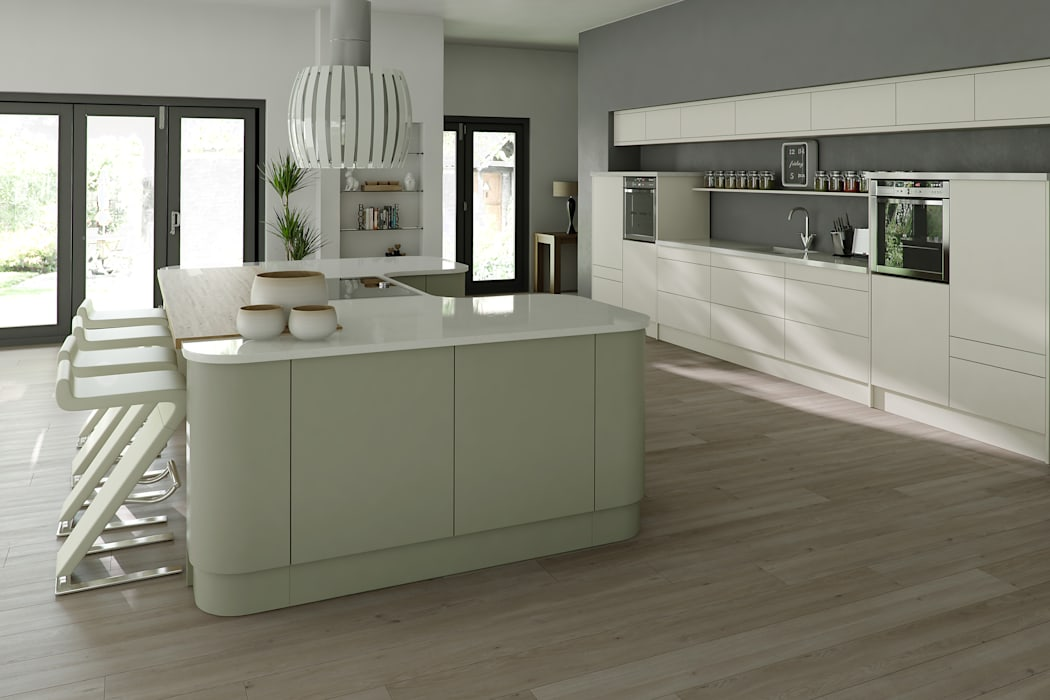 Bespoke Modern Kitchen par Kitchens Continental Ltd Moderne