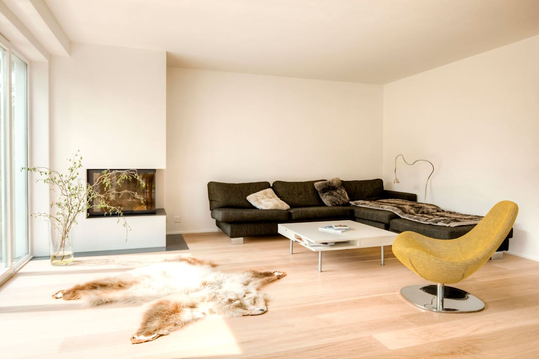 Country style living room by hausbuben architekten gmbh Country
