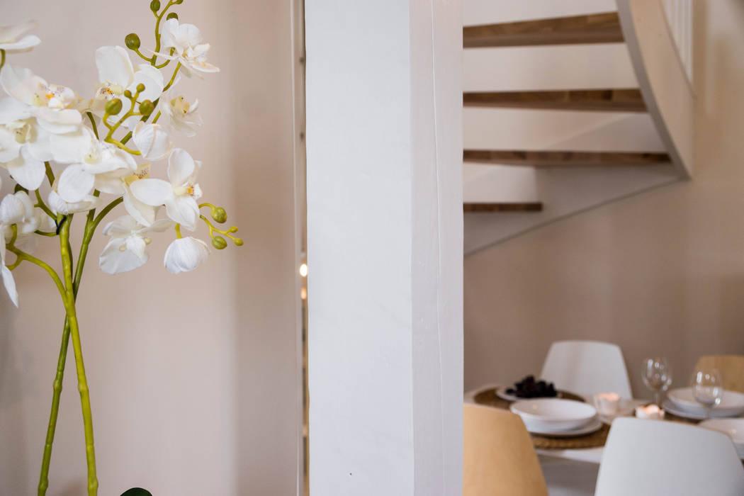 Domek powietrze: styl , w kategorii Hotele zaprojektowany przez Ewa Weber - Pracownia Projektowa,Skandynawski