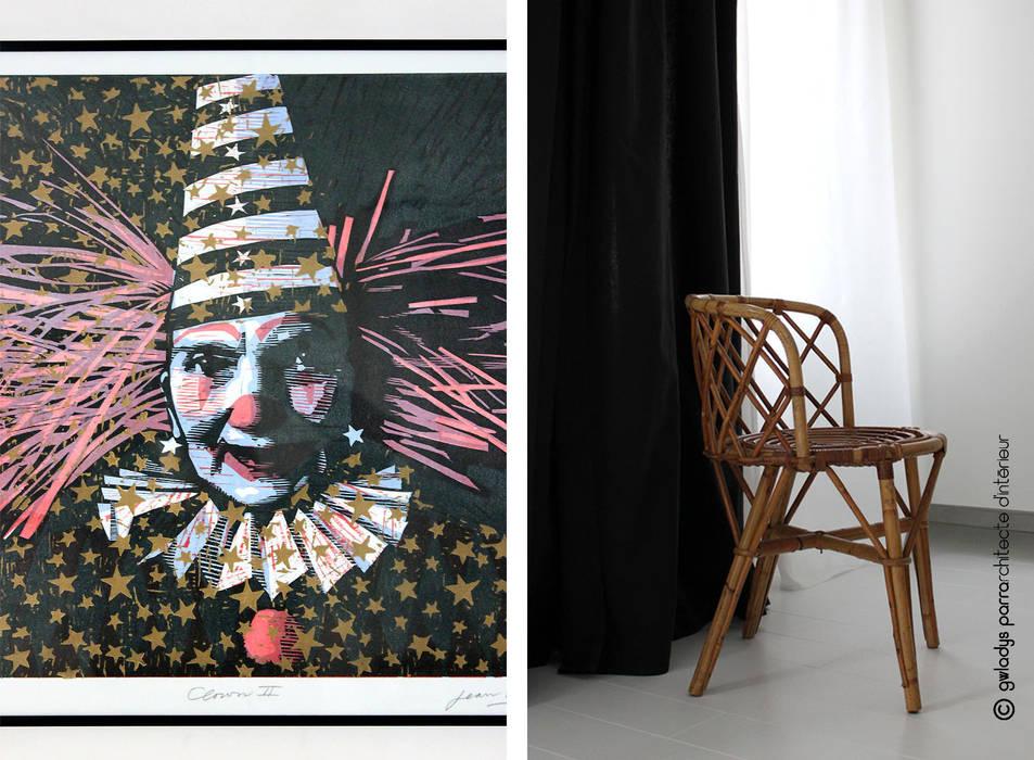 ESPACE DE TRAVAIL: Bureau de style de style Moderne par Gwladys PARRA