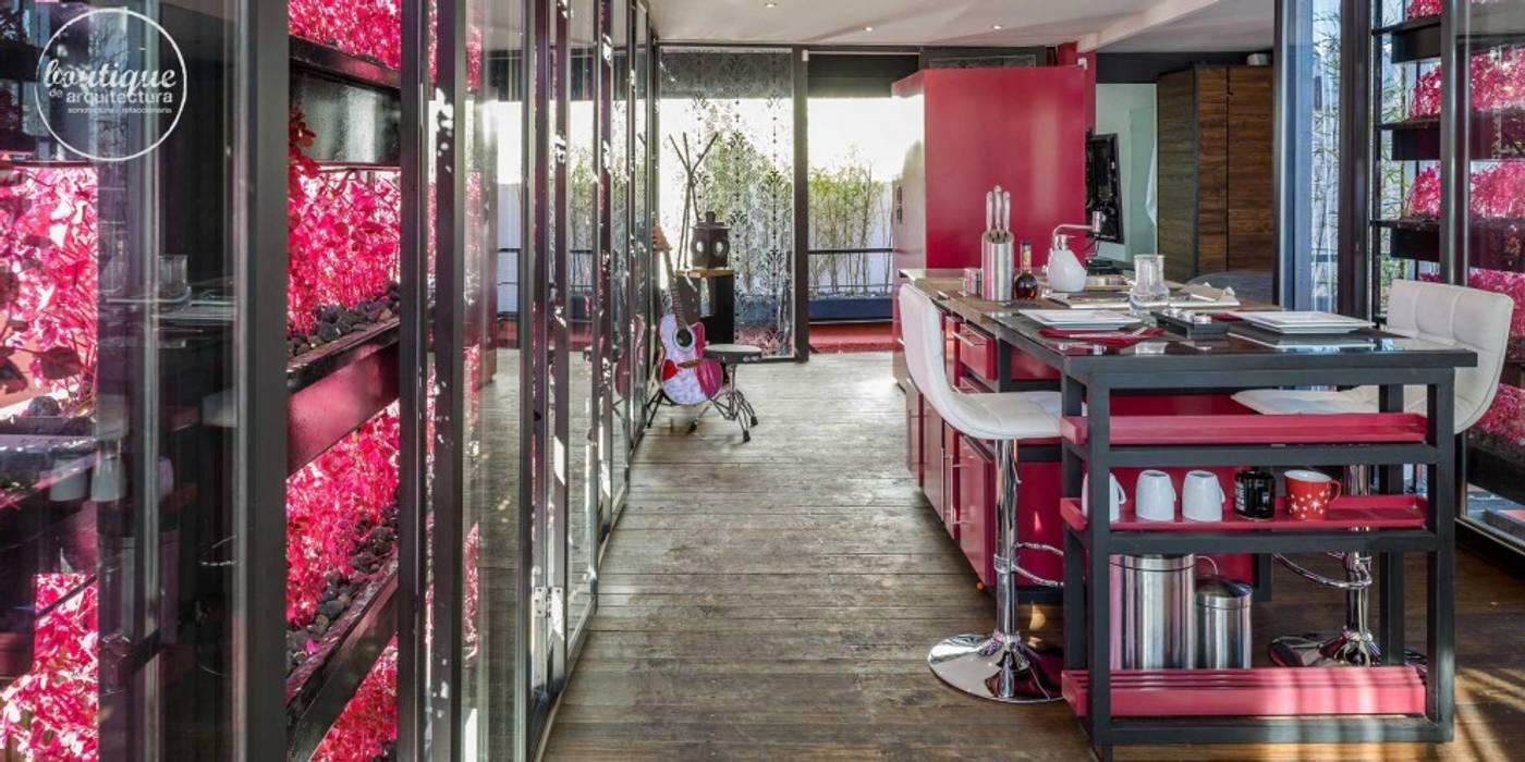 Estudio Coyoacan Boutique de Arquitectura (Sonotectura + Refaccionaria) Cocinas modernas