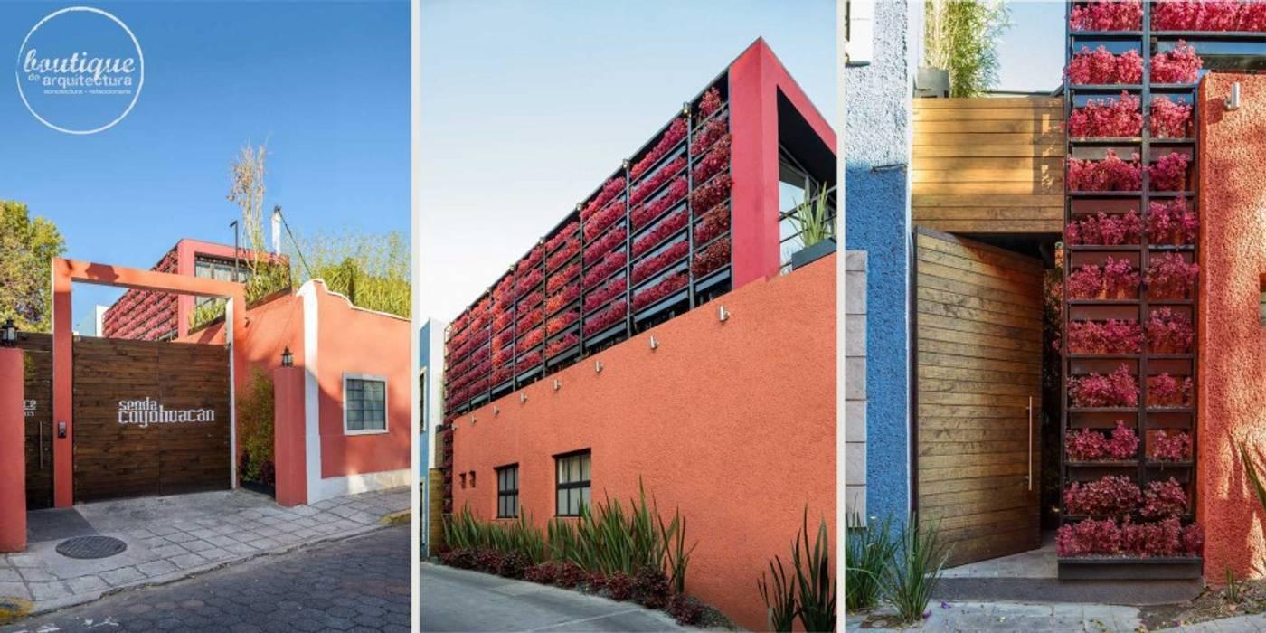 Estudio Coyoacan Casas modernas de Boutique de Arquitectura (Sonotectura + Refaccionaria) Moderno