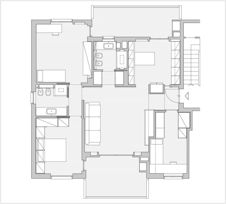 BONCHE: Case in stile  di Architetto Umberto Carlo Demichelis