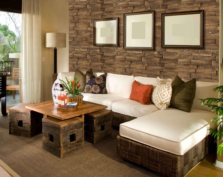 Walls by homify, Rustic Chipboard