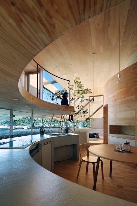 Pit house by UID Modern