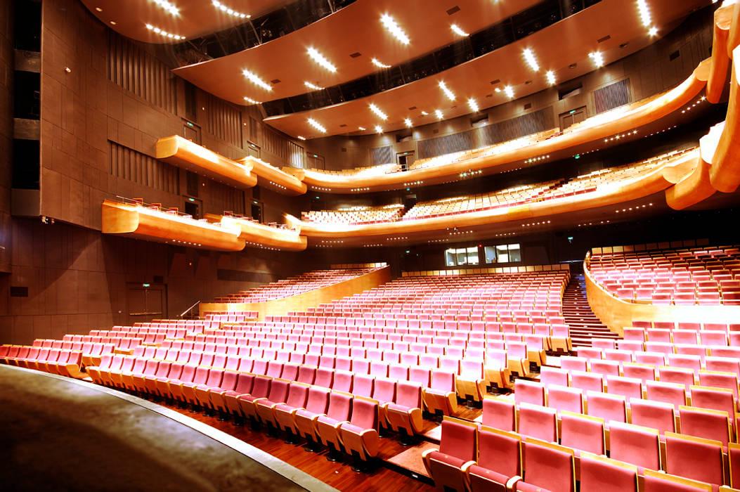 Poly Theatre:   by atelier blur / georges hung architecte d.p.l.g.,