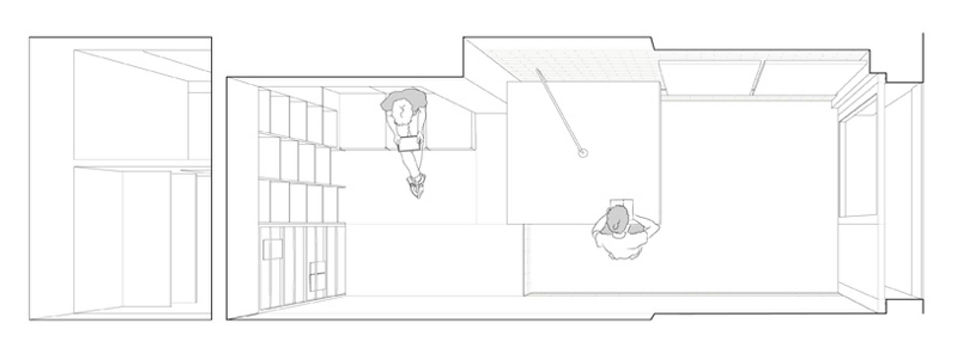 taller toormix vora Estudios y despachos de estilo moderno