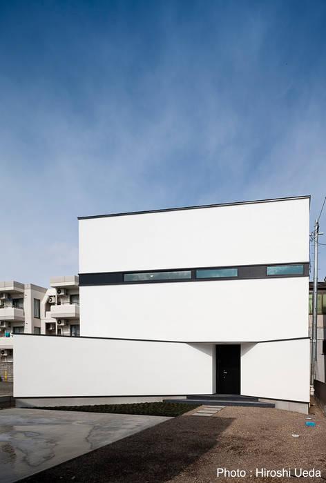 外観 モダンな 家 の 石川淳建築設計事務所 モダン