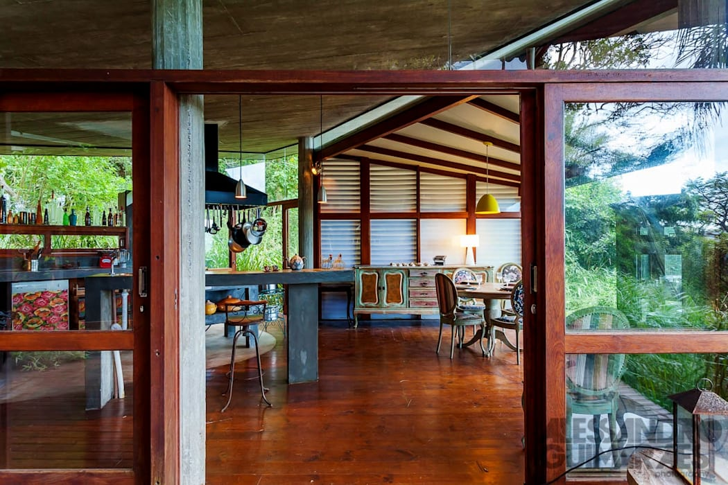 Casa da Floresta Ferraro Habitat Cozinhas campestres