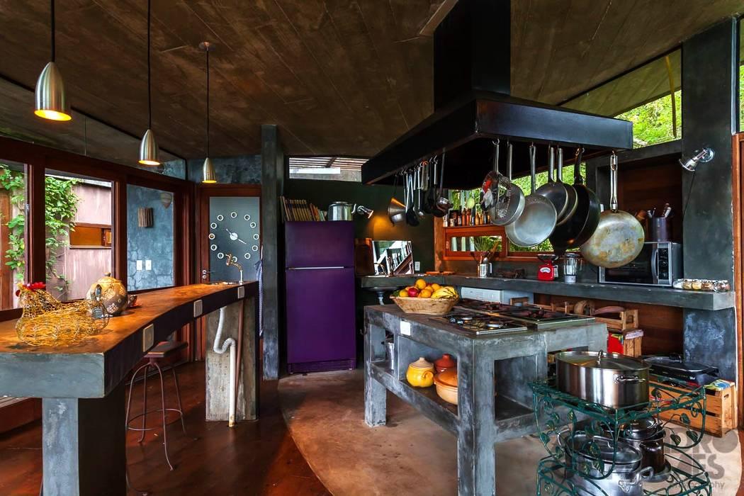 Cozinhas  por Ferraro Habitat