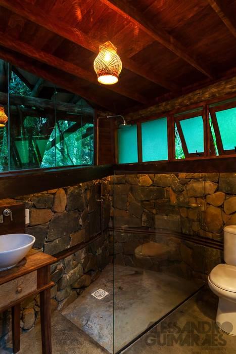 Casa da Floresta Ferraro Habitat Banheiros campestres