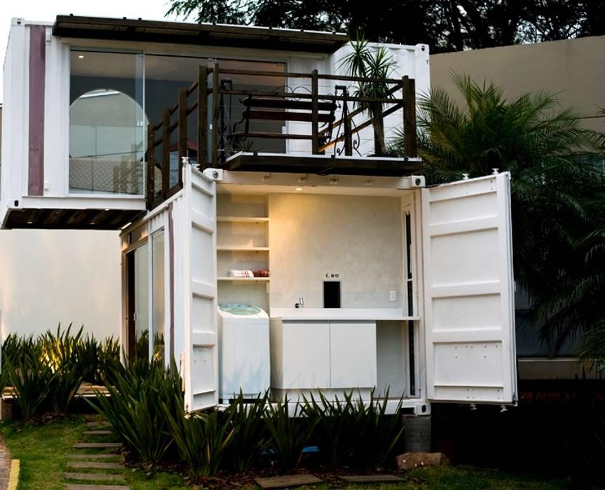 Rumah Minimalis Oleh Ferraro Habitat Minimalis