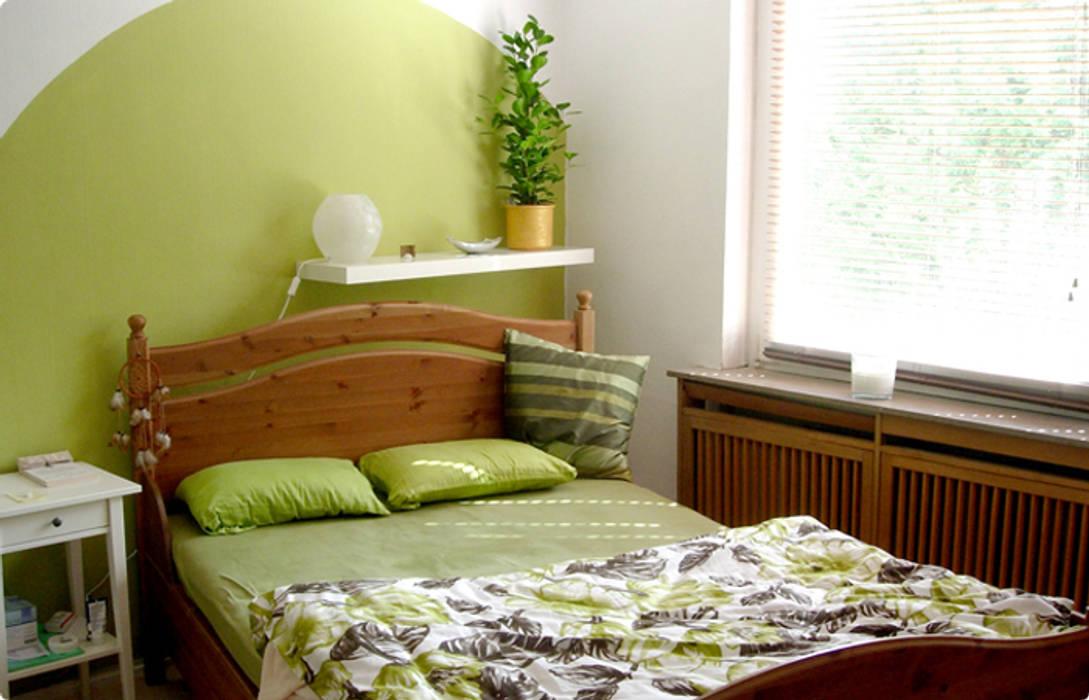 Camera da letto in stile di architektur à la feng shui homify