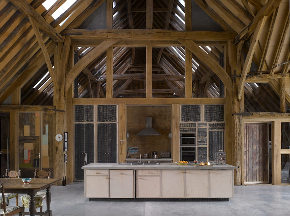 Feering Bury Farm Barn by Hudson Architects Eclectic