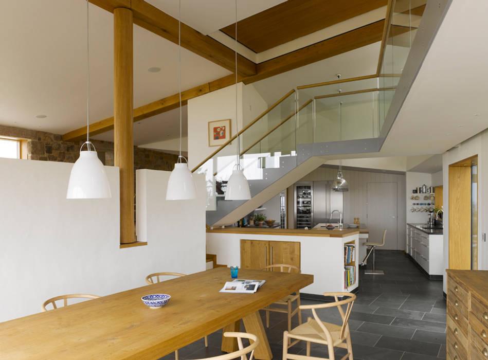Jersey House Modern style kitchen by Hudson Architects Modern