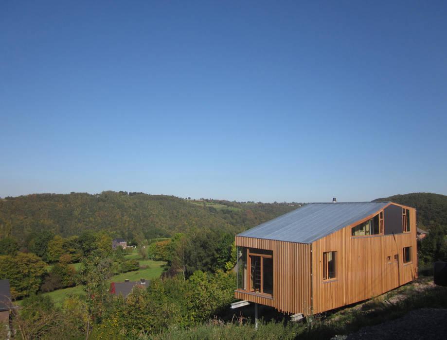 Casas de Atelier Architecture Daniel Delgoffe