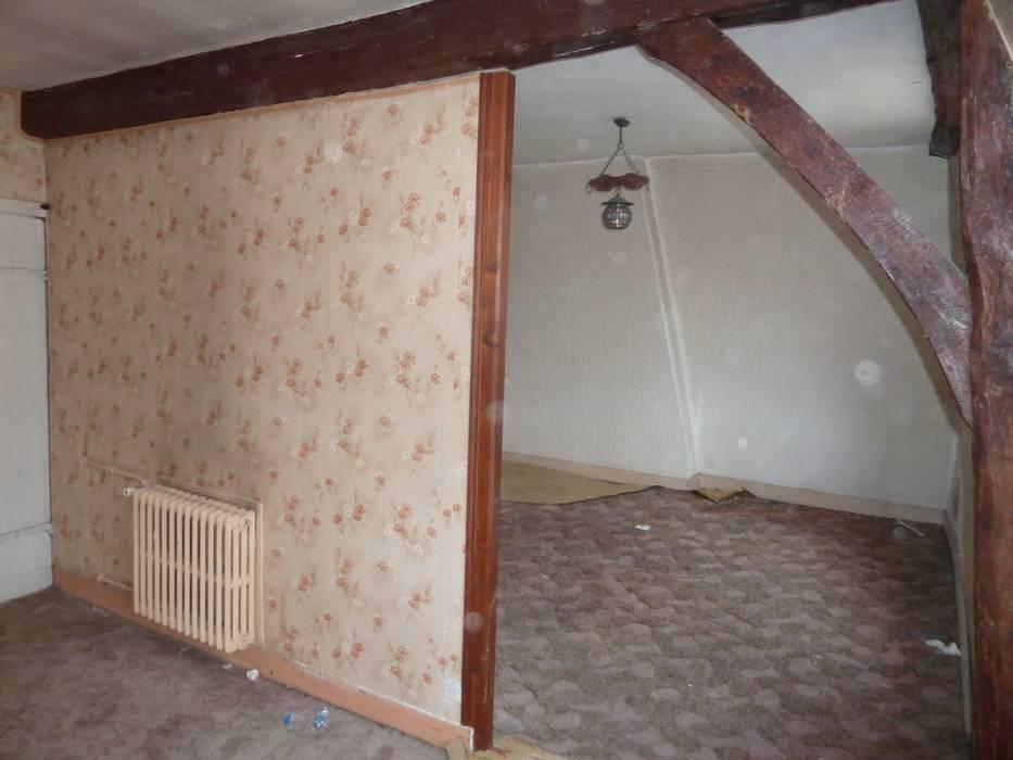 Appartement à Versailles: Maisons de style  par ATELIER COSTE ET BUTIN