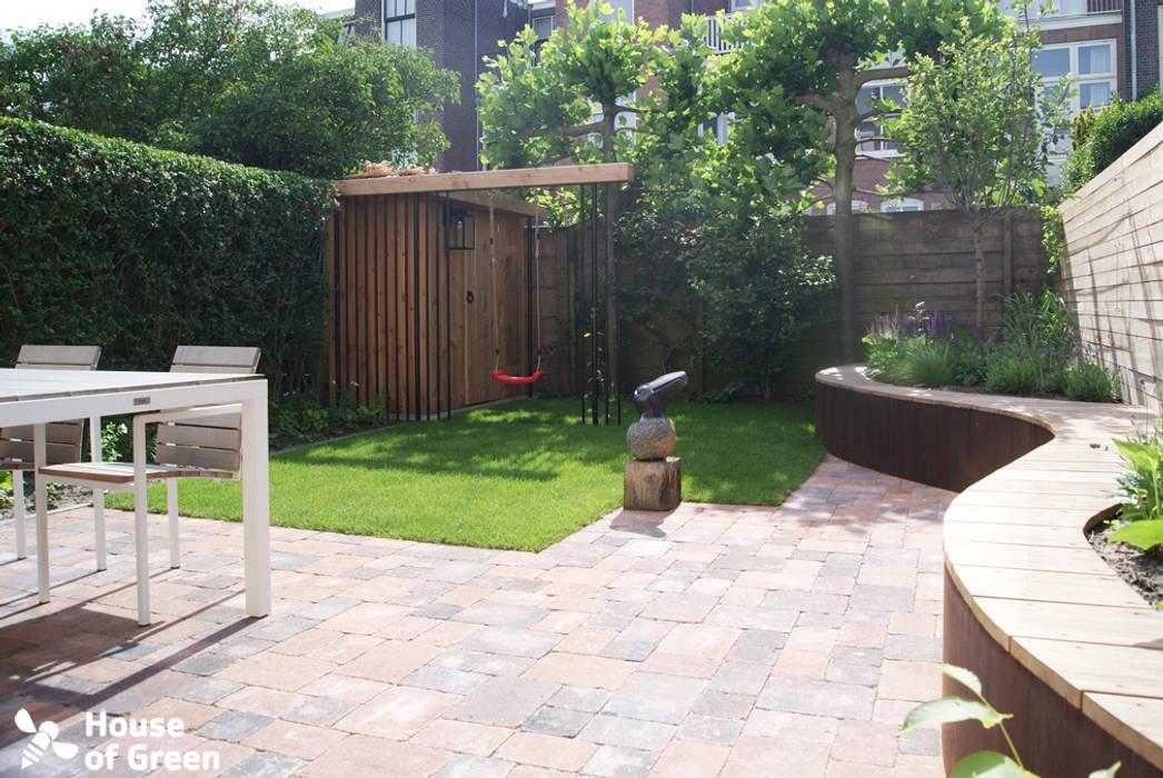 Schommel Voor Tuin : Tuinhuis met schommel tuin door house of green homify
