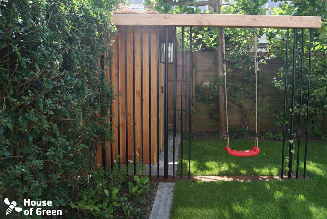 Schommel Voor Tuin : Tuinhuis met schommel details tuin door house of green homify